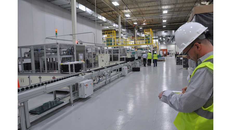 A123 Systems to Double Global Manufacturing Capacity