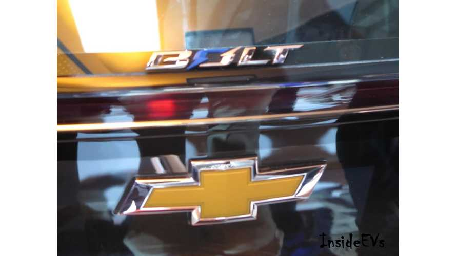 More Production Details Leak Out On Chevrolet Bolt - Will Share Platform With Sonic