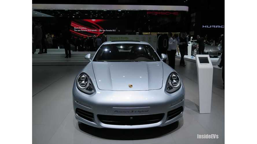 Porsche Denies Rumors Of Tesla Model S Rival