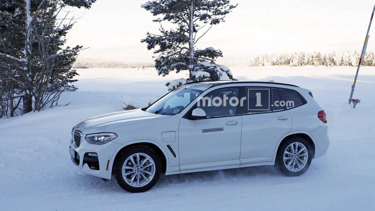 2019 Bmw X3 Plug In Hybrid Spy Photo 1
