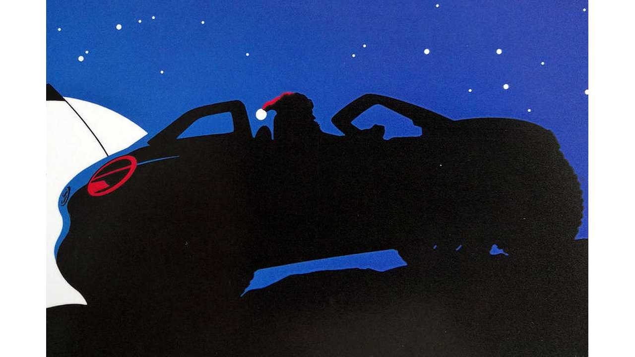 VW Christmas Card Teases I.D. Electric Dune Buggy