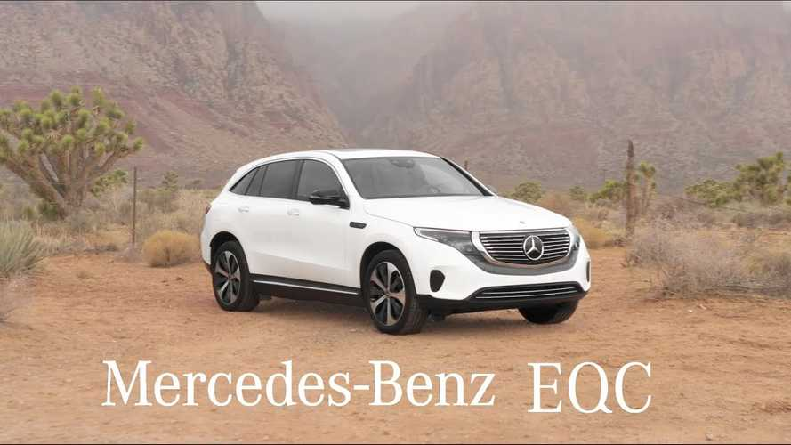 Ride Inside The Mercedes-Benz EQC: Video