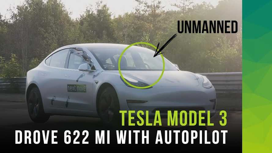 Driverless Tesla Model 3 Sets New Hypermiling Record