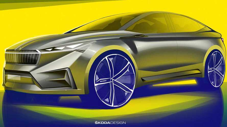 Skoda Reveals Vision iV Electric Crossover Concept