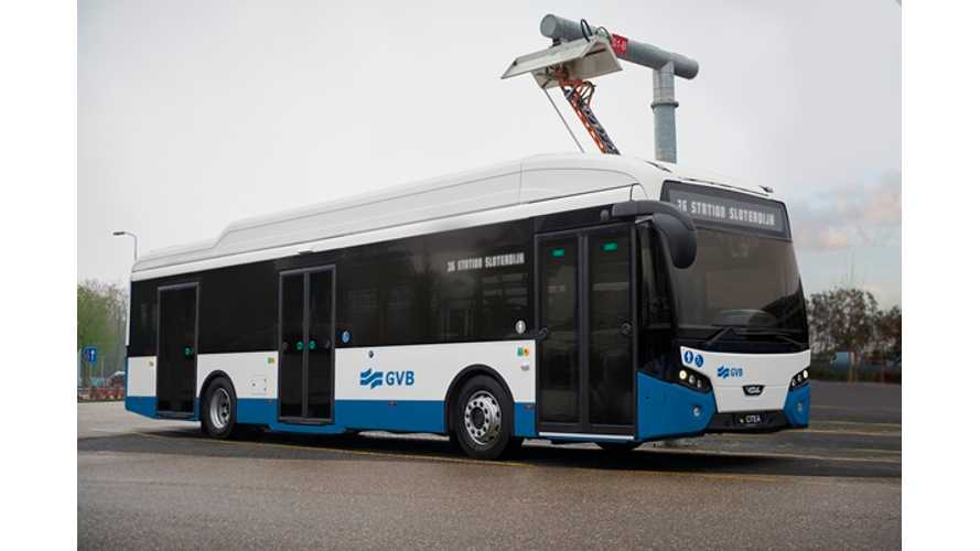 VDL Receives Order For 43 Electric Buses In The Netherlands