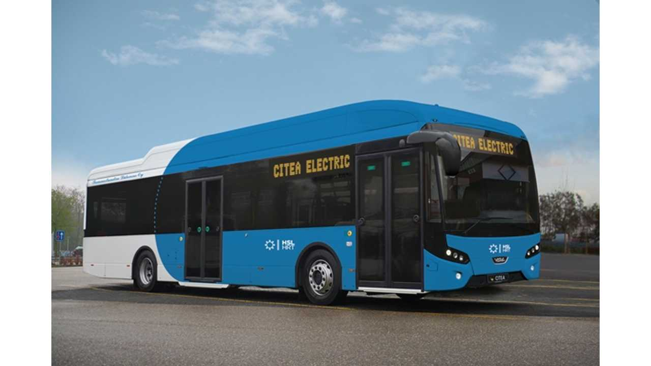 VDL Citeas SLE Electric Bus Ready For Work 22 Hours A Day