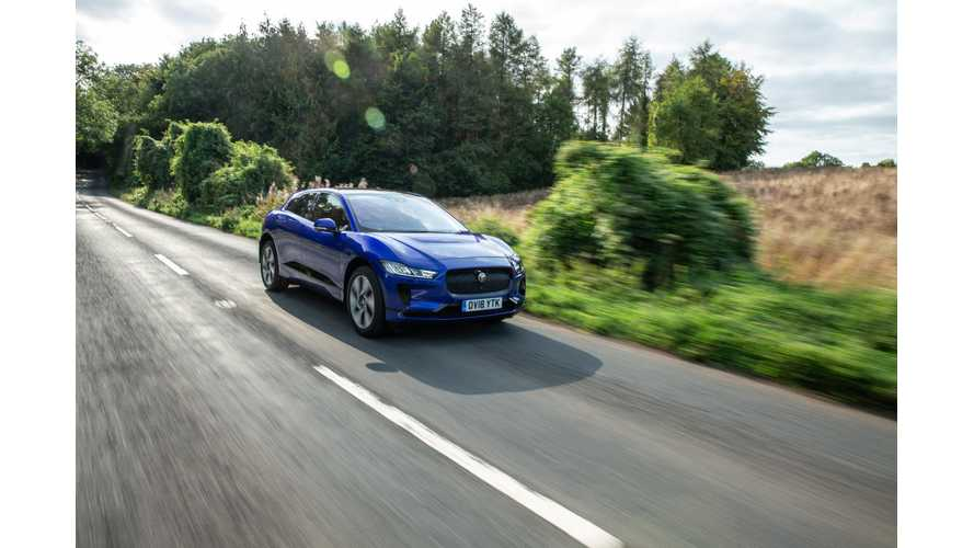 Tennis Star Talks About His Own Jaguar I-Pace