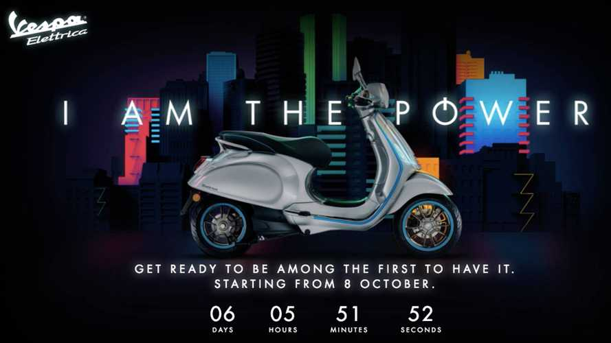 Ciao, Bella! The Countdown To The Vespa Elettrica Has Begun