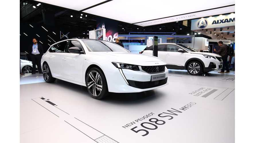 Paris: Peugeot Presents Plug-In Hybrid 508, 508 SW and 3008