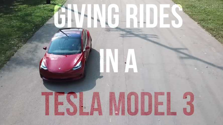 Watch How Uber Riders React To Tesla Model 3