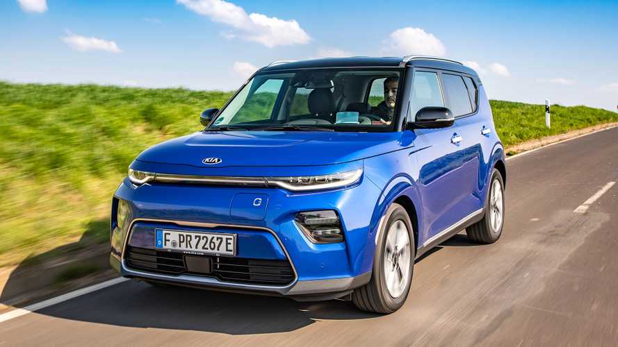 Kia e-Soul 2019 (deutsche Version)