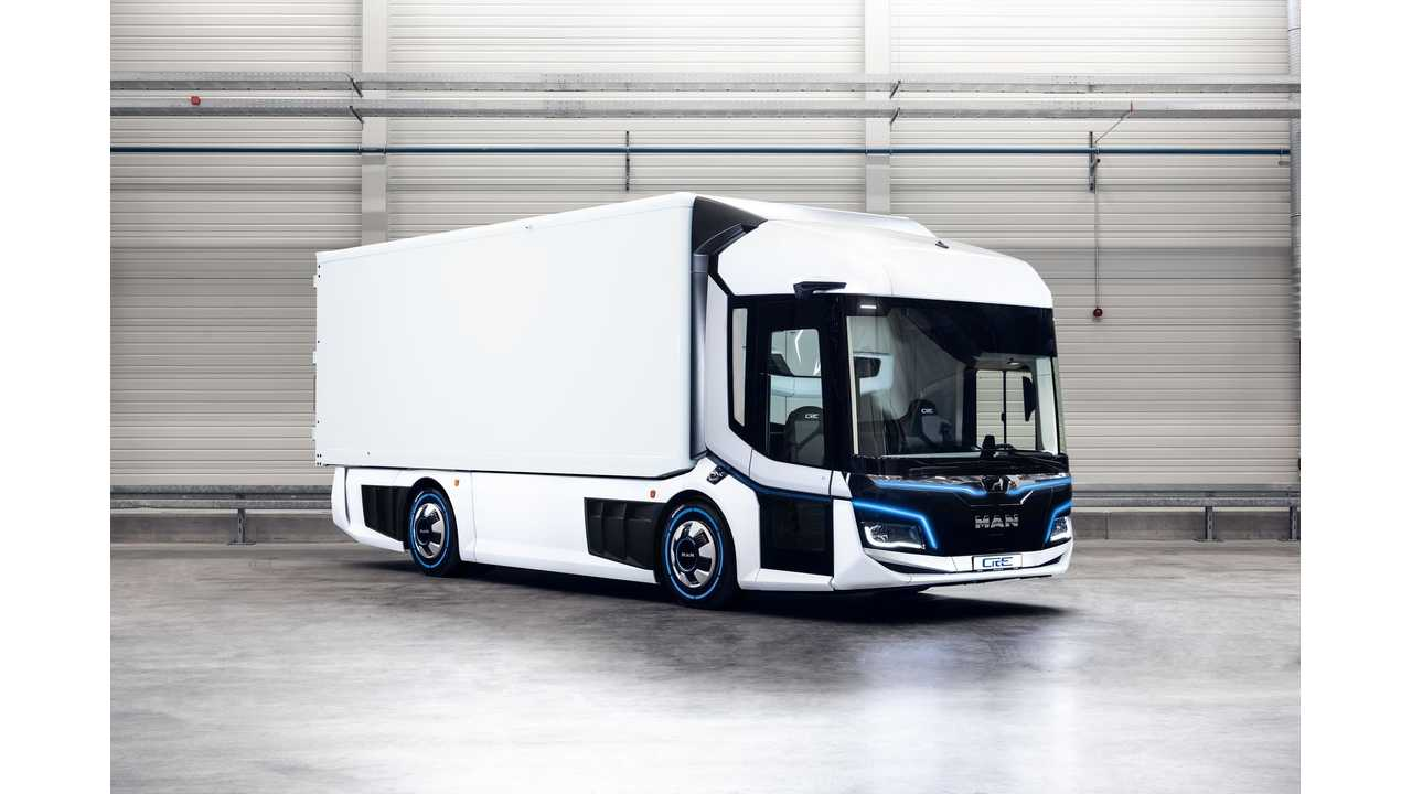 MAN Reveals CitE Electric Truck Concept