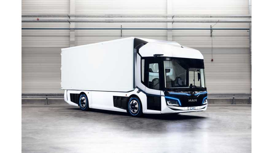 MAN Reveals CitE Electric Truck Concept