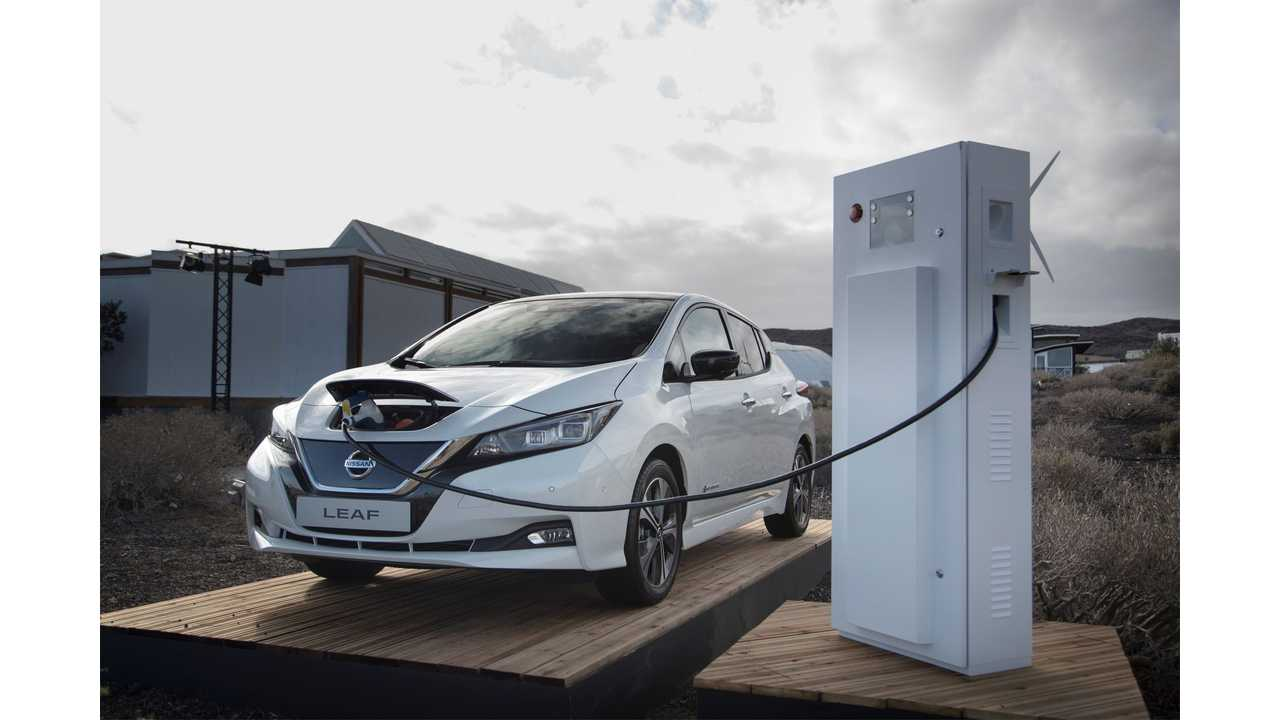 Nissan LEAF Is Germany's First V2G-Approved Electric Car