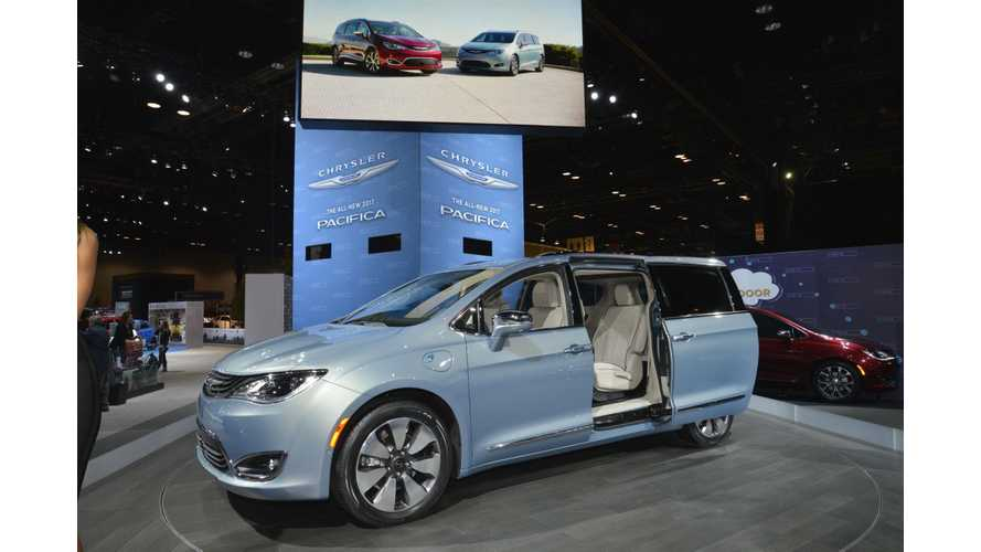 LG Chem / Chrysler Pacifica PHEV Contract Marks A New First For Battery Maker