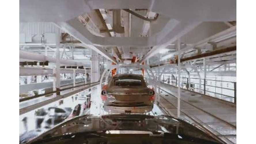 Travel Down The Tesla Model S Production Line - Video