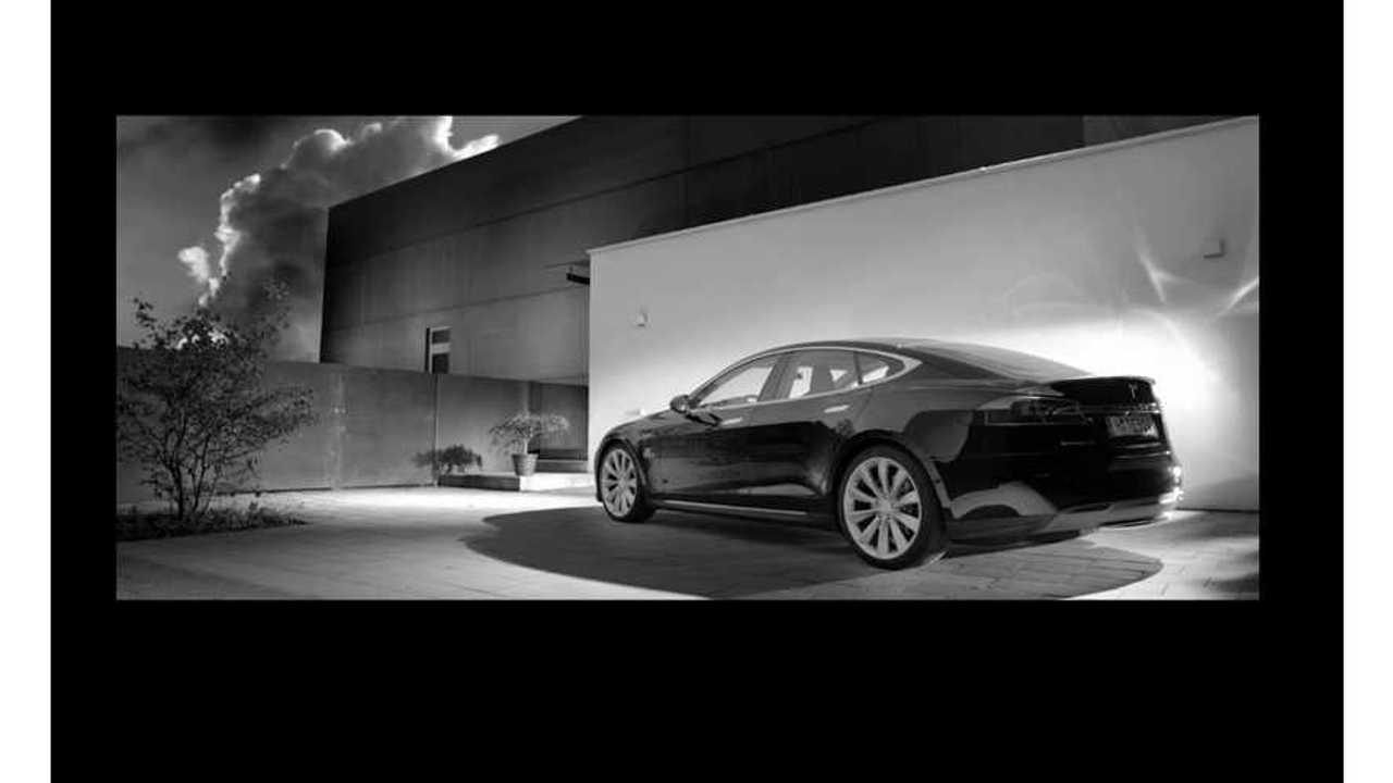 Professional Tesla Model S Ad Spot