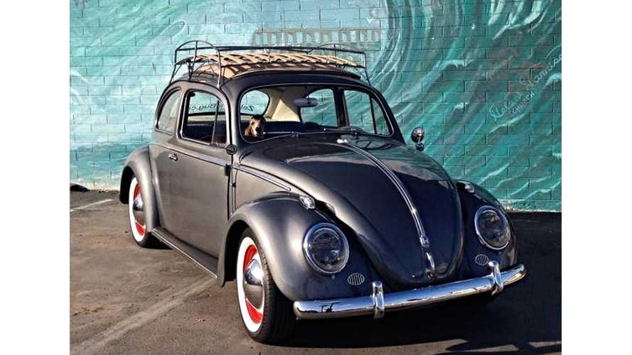 The Verge Explores The Art Of Converting Old Volkswagens To Electric (w/video)
