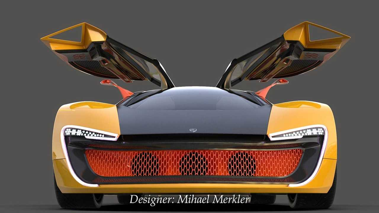 Curvaceous Electric Hypercar Looks Slick, Isn't Real