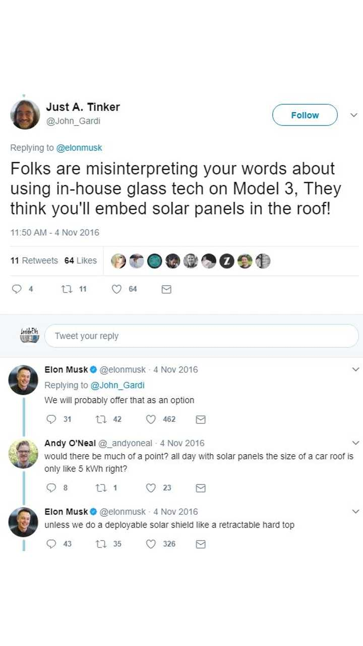 Just Recently At The National Governors Ociation Where Musk Was In Attendance Tesla Ceo S Admitted That Automaker Researched A Solar Array Roof And