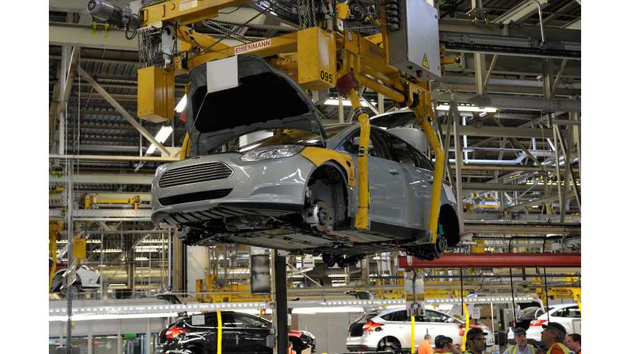Ford Puts A Stop To Focus EV Production In Europe