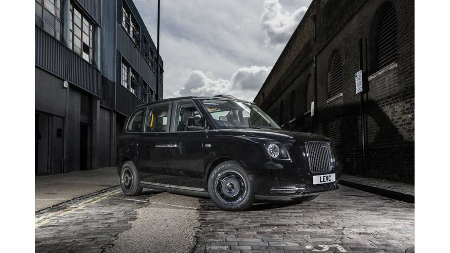 LEVC (London Taxi) Unveils Final Design Of Its New Electric TX Taxi