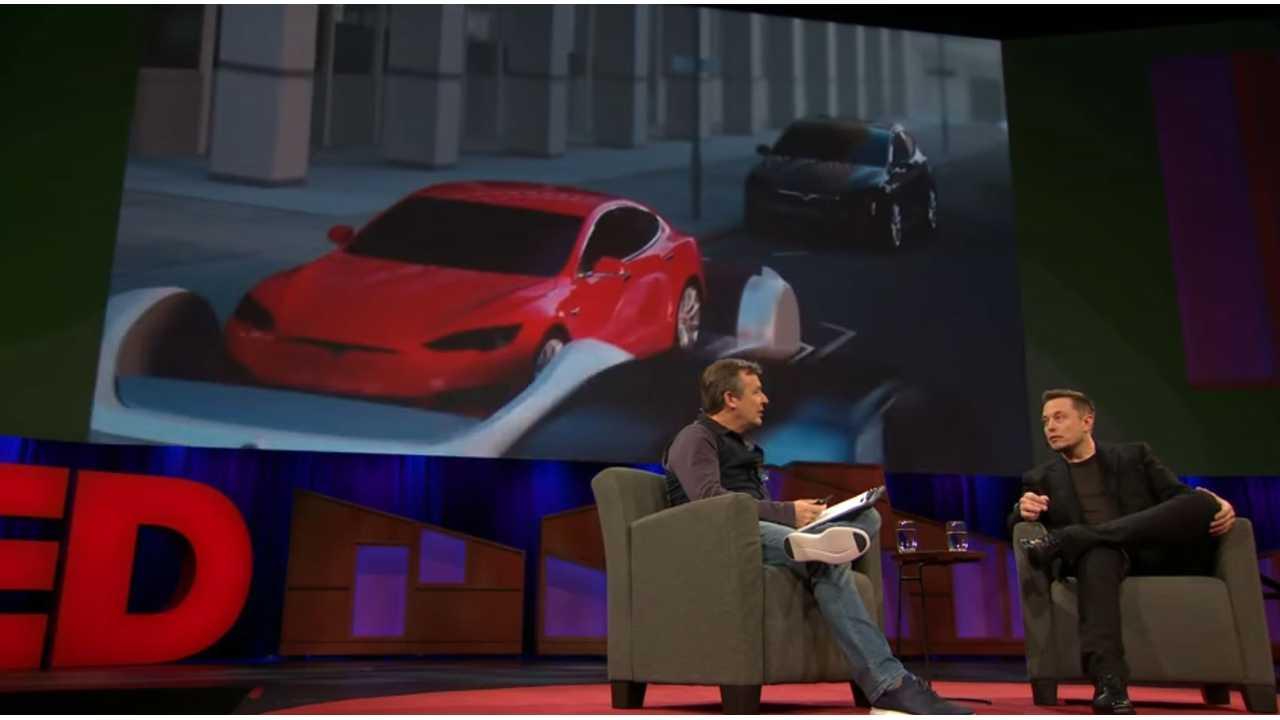 Tesla and SpaceX CEO Elon Musk in TED interview.