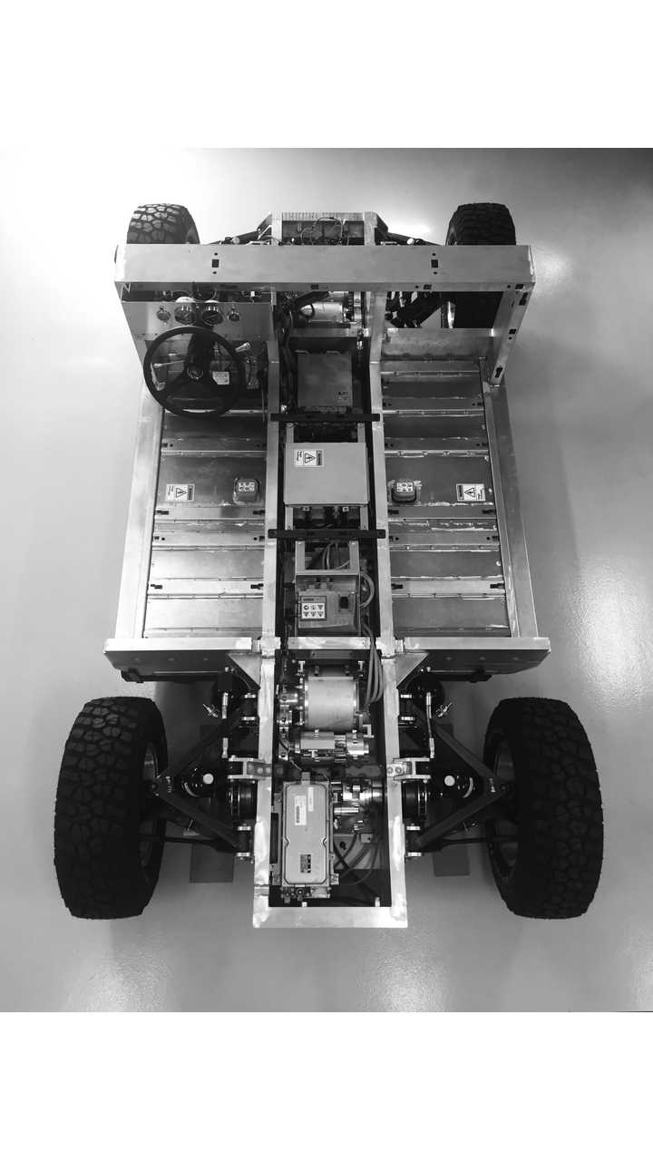 Fully-Electric On / Off Road Sport Utility Truck Foundation Revealed By Bollinger Motors
