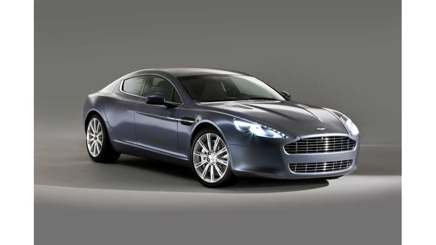Electric Aston Martin Rapide To Launch By 2018