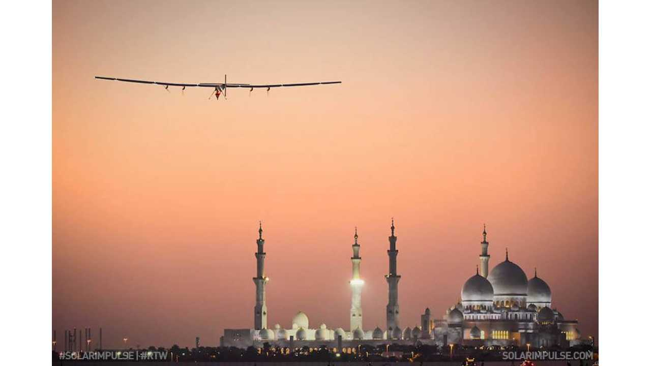 Solar Impulse - Around the world in a solar airplane