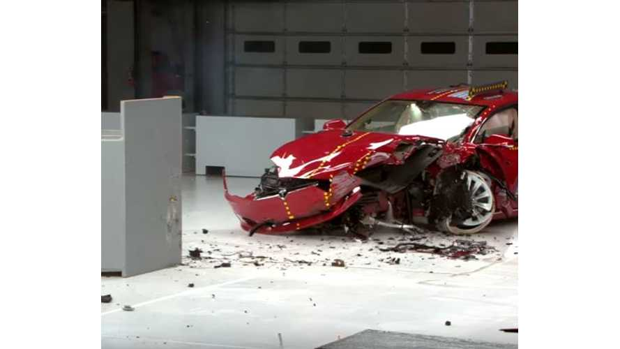 IIHS Puts BMW i3 & Tesla Model S Through Crash Tests - Neither Earn
