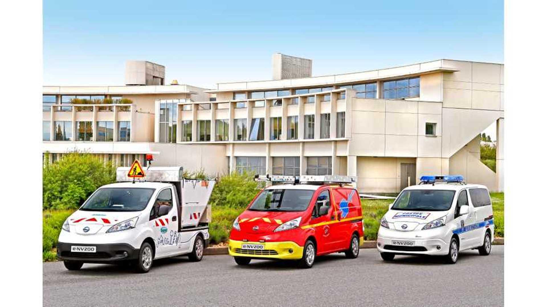 3eaef268acd3cf Nissan e-NV200 is Europe s Best-Selling Electric Van