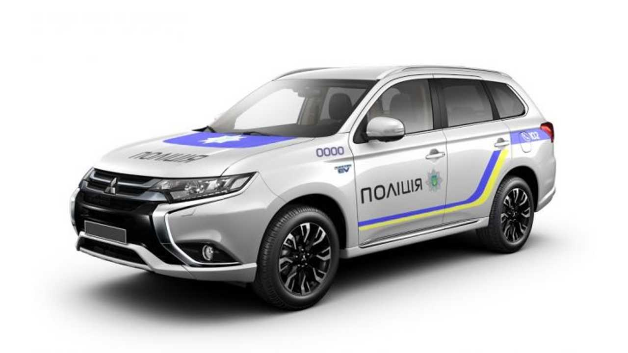 Mitsubishi Signs Deal To Supply Ukranian Police With 635 Outlander PHEVs