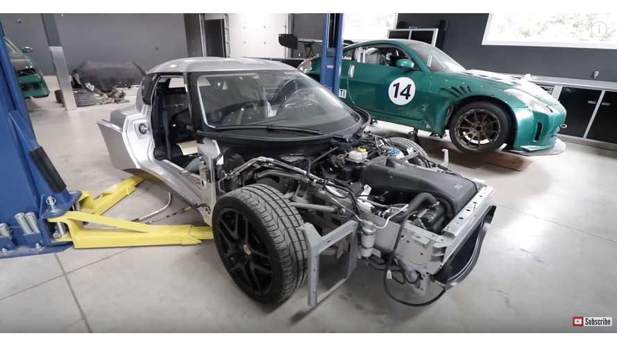 Lotus Evora With Tesla Electric Motor & Chevrolet Volt Batteries - Video