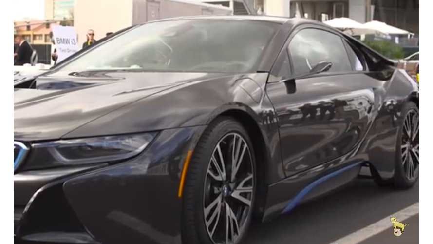 Future Tech:  Mirrorless (and Flawless) BMW i8 Test Drive - Video