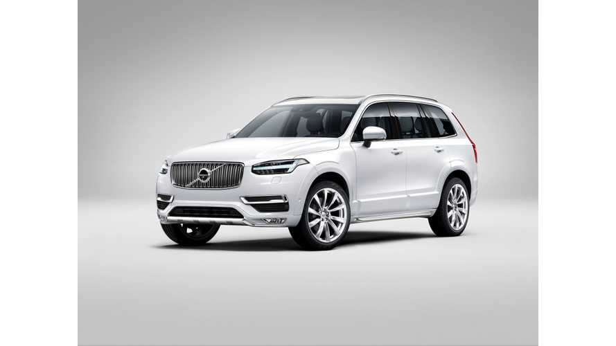 Volvo Unveils XC90 Plug-In Hybrid At 2014 LA Auto Show, On Sale In Less Than 6 Months