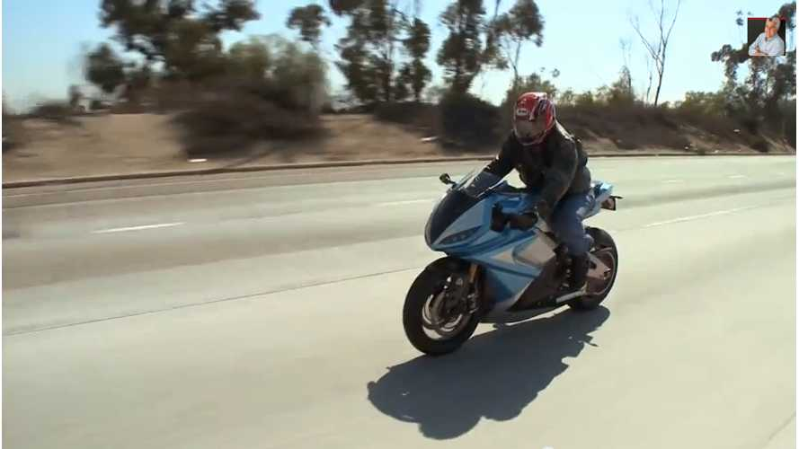 Lightning Motorcycles on Jay Leno Garage (w/video)