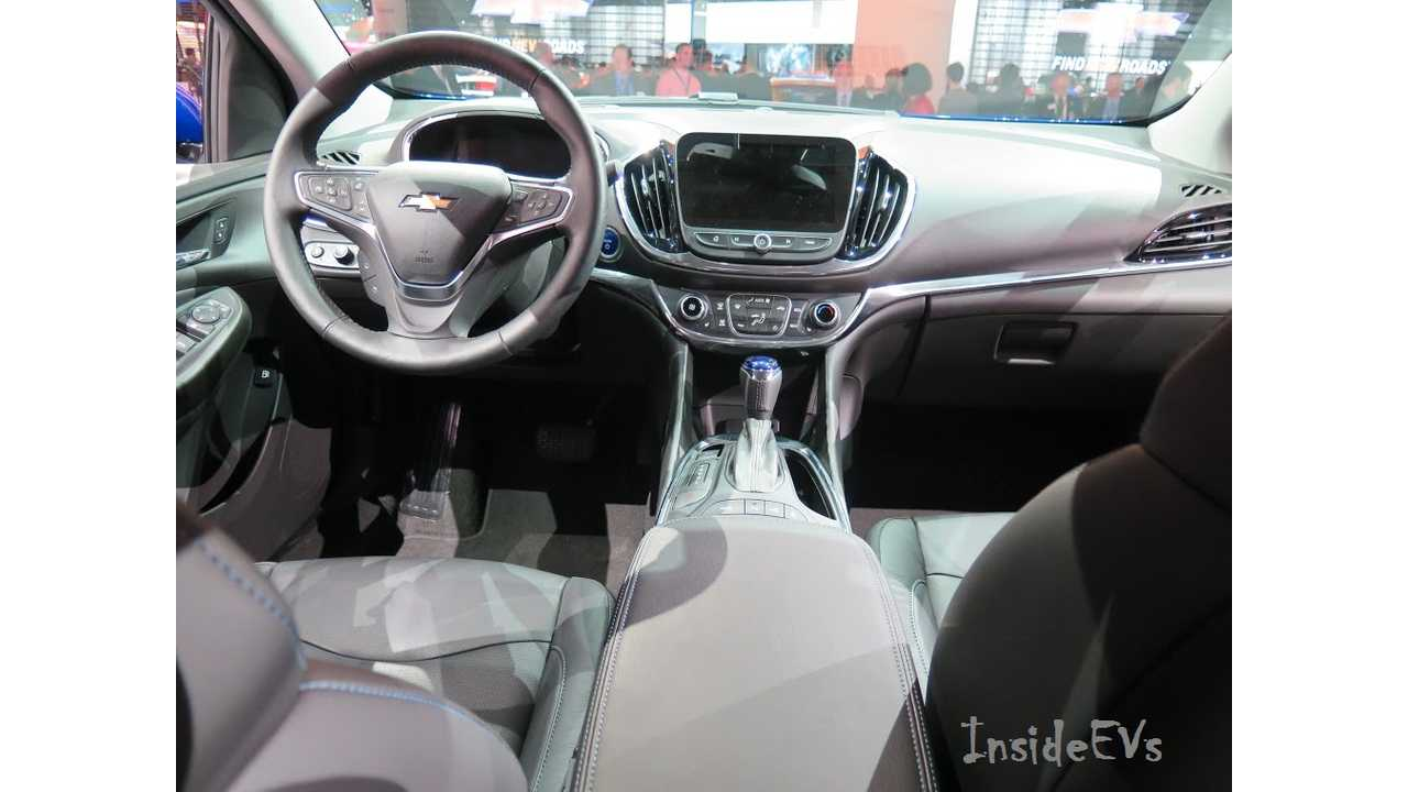 2016 Chevrolet Volt View From Rear Seats - Image Credit: Tom Moloughney/InsideEVs