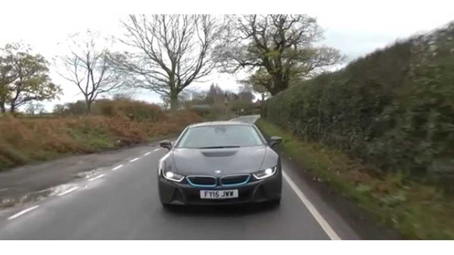 Soccer Star Michael Owen Test Drives BMW i8 (w/video)