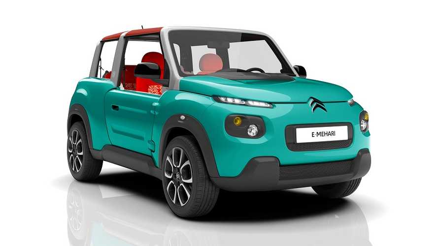 Citroen E-Mehari:  It's Real, It's All Electric, It's Weird And It Goes On Sale In 2016