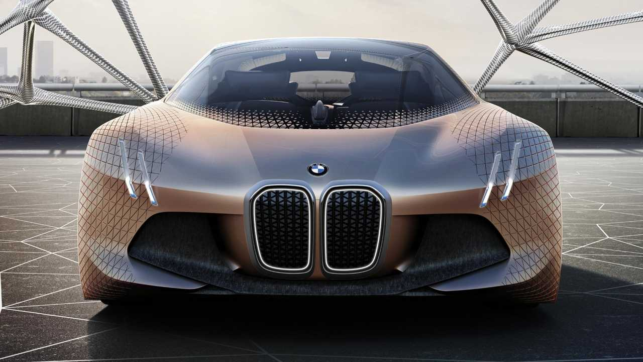 BMW Vision Next 100 Looks To The Future, Has Cool Swag - But Is It Electric?  (Videos)