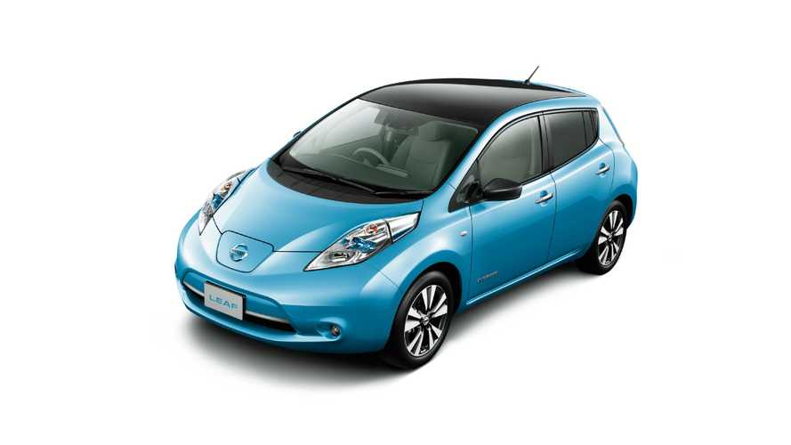 Worldwide Nissan LEAF Sales Down To 43,651 In 2015 (From 60,000) As Weak Numbers For Japan Are In