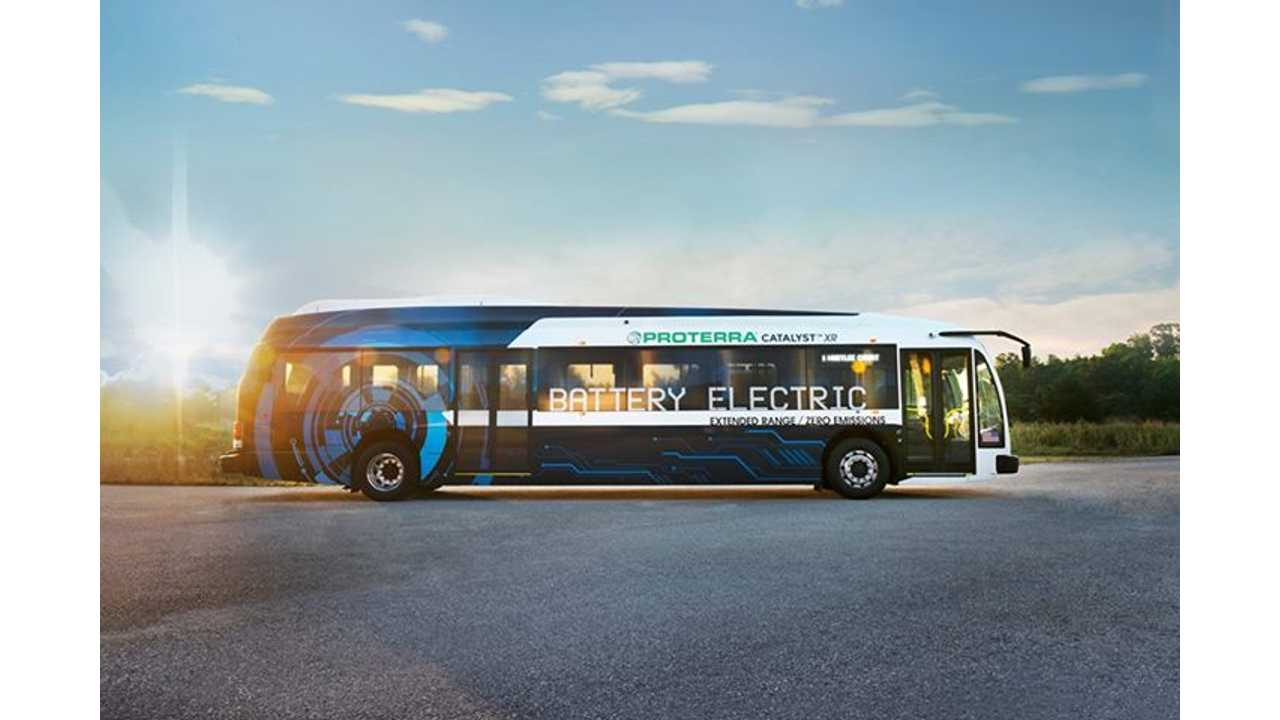 Proterra Launches 35-Foot Electric Bus