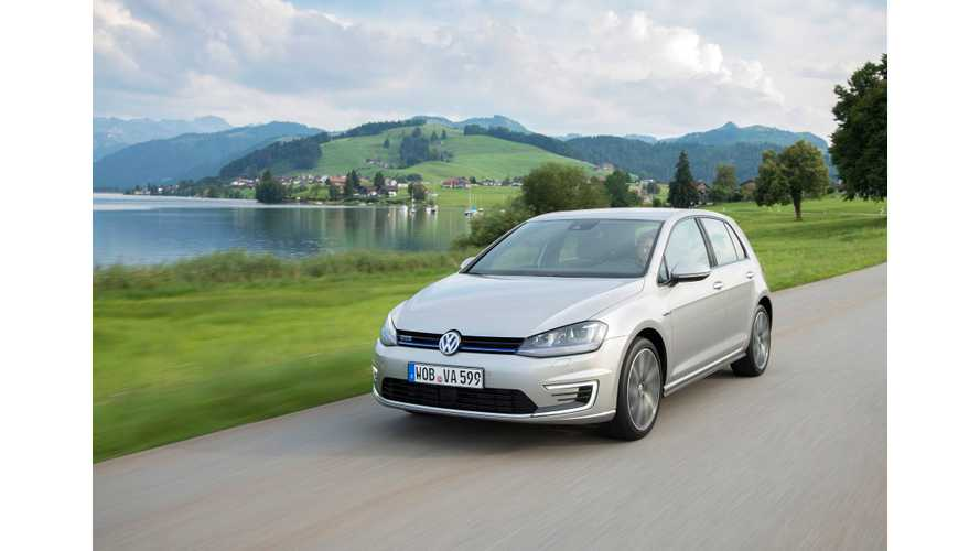 Volkswagen Golf GTE Is The Most Popular Plug-In Hybrid In France