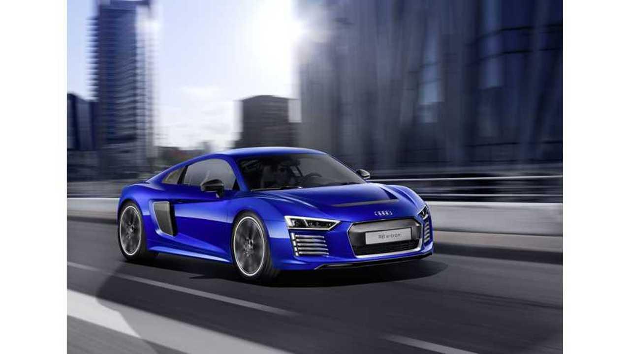 Audi Ends R8 e-tron Production At 100 Units