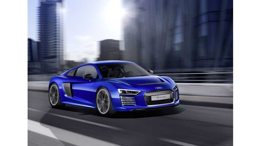 Audi Ends R8 e-tron Production At 100 Units