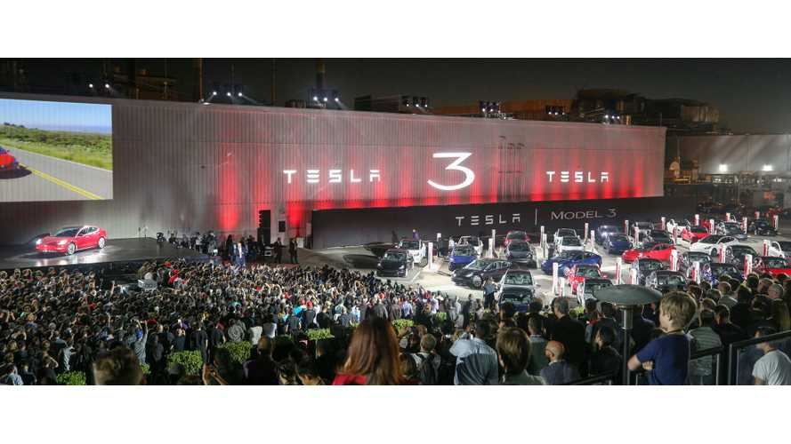 Tesla Model 3 Delivery Party - Watch Livestream, Pre-Show Details Here