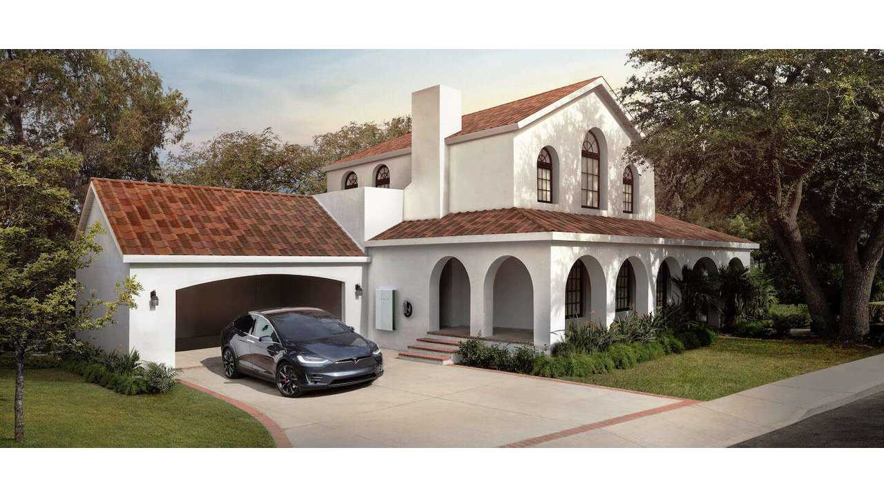 Coming in 2018 Tesla Solar Roof In Tuscan Tiling