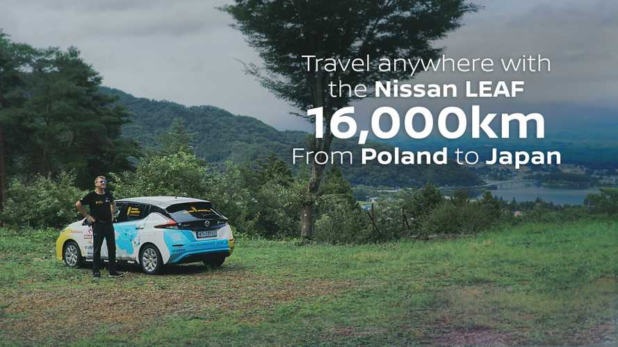 Watch As Nissan LEAF Drives Thousands Of Miles Across Eurasia