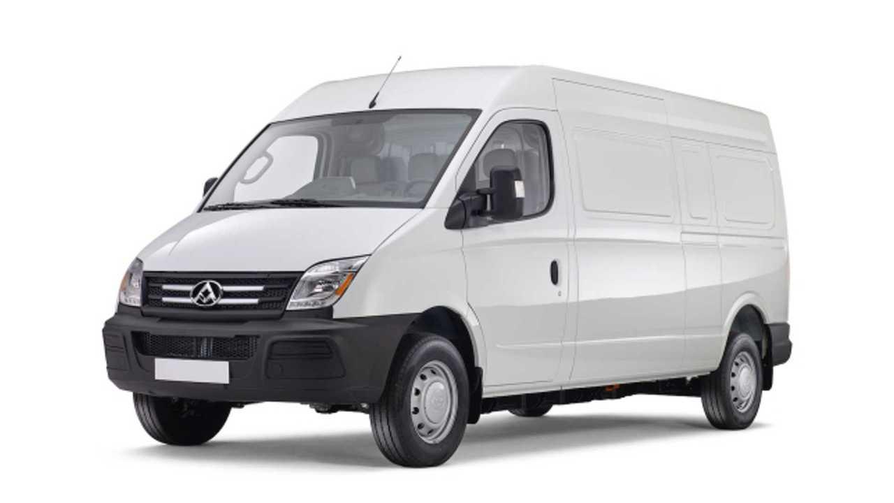 SAIC Showcases Electric Maxus EV80 Van Lineup